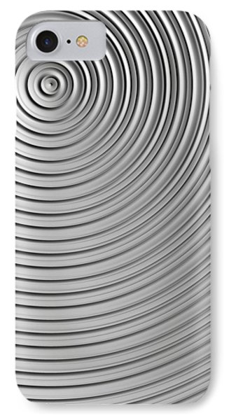 IPhone Case featuring the digital art Also Not A Spiral by Jeff Iverson