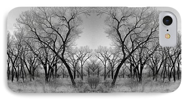 Altered Series - Bare Double IPhone Case by Kathleen Grace