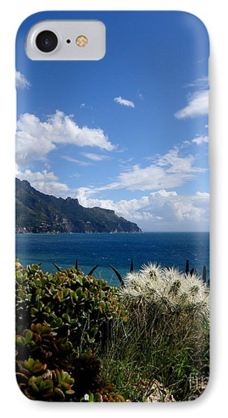 IPhone Case featuring the photograph Amalfi Coast Succulents  2 by Tanya  Searcy