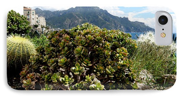 IPhone Case featuring the photograph Amalfi Coast Succulents by Tanya  Searcy