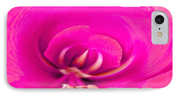 IPhone Case featuring the photograph Amaryliss Close-up by Les Palenik