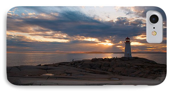 Amazing Sunset At Peggy's Cove Phone Case by Andre Distel