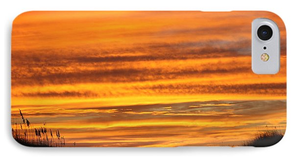 Amazing Sunset Over Obx Phone Case by Kim Galluzzo Wozniak