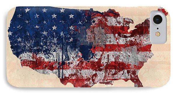 America IPhone Case by Mark Ashkenazi