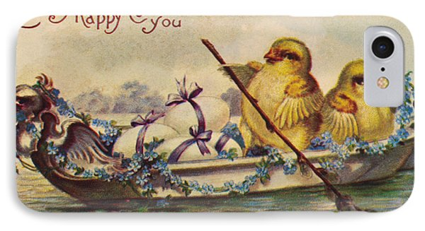 American Easter Card Phone Case by Granger