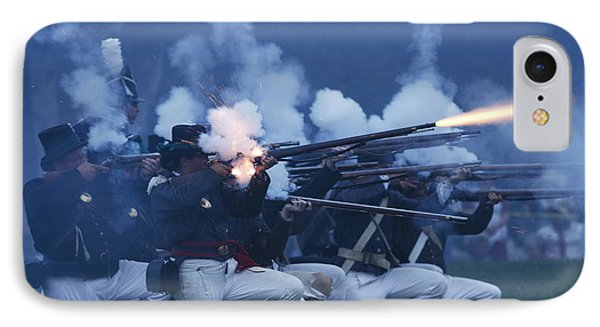 American Night Battle Phone Case by JT Lewis