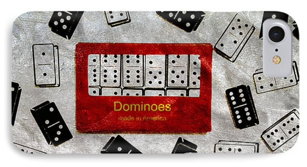 American Passtime Dominoes IPhone Case