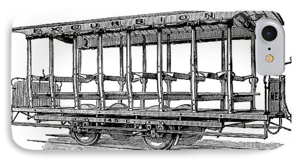 American: Streetcar, 1880s Phone Case by Granger