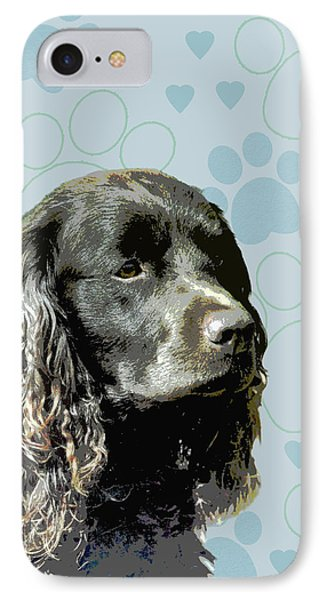 American Water Spaniel Phone Case by One Rude Dawg Orcutt