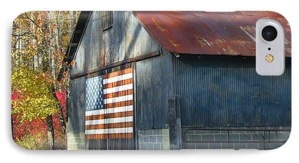 IPhone Case featuring the photograph Americana Barn by Clara Sue Beym