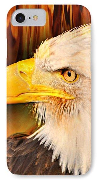 Americasn Bald Eagle Phone Case by Marty Koch