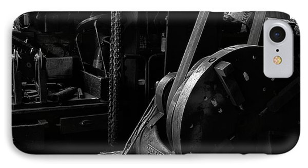 IPhone Case featuring the photograph Ames Mfg Co by Tom Singleton