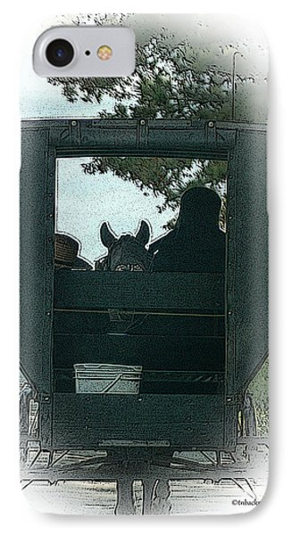 Amish Buggy Ride IPhone Case
