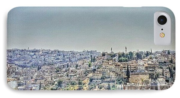 Amman Down Town, #downtown #city IPhone Case