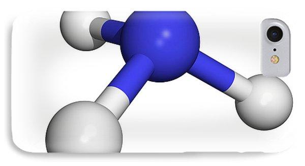 Ammonia Molecule Phone Case by Dr Tim Evans
