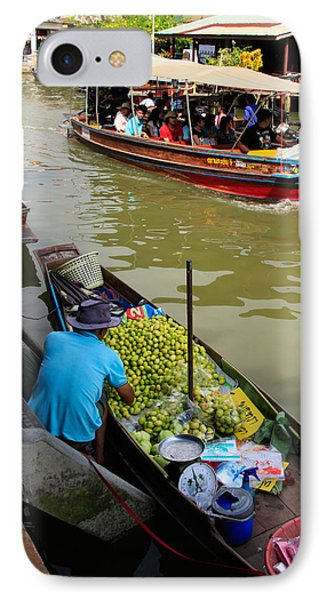 Ampawa Floating Market Phone Case by Adrian Evans