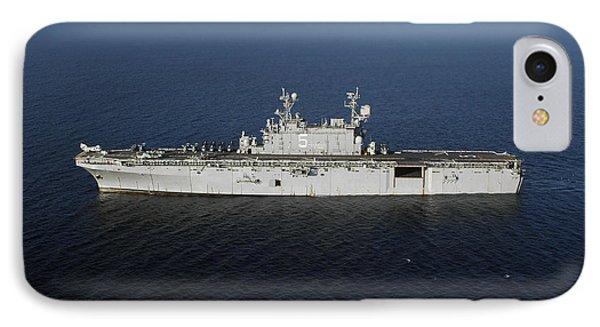 Amphibious Assault Ship Uss Peleliu Phone Case by Stocktrek Images