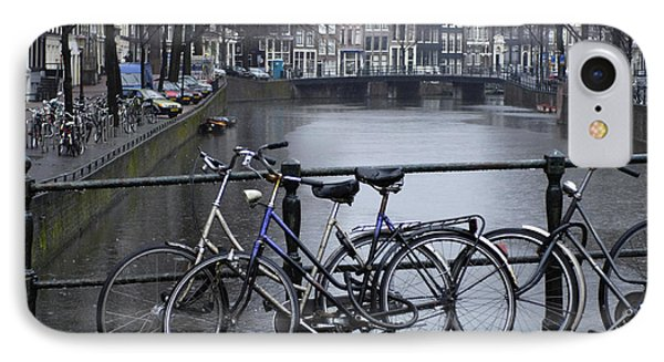Amsterdam The Netherlands Phone Case by Bob Christopher