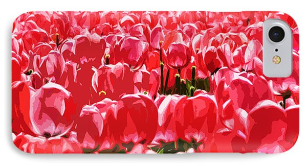 Amsterdam Tulips Phone Case by Phill Petrovic