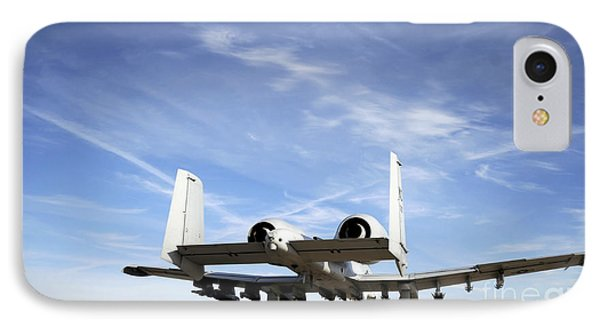 An A-10 Thunderbolt II Taxies Phone Case by Stocktrek Images