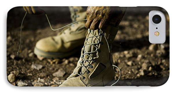 An Air Force Basic Military Training Phone Case by Stocktrek Images