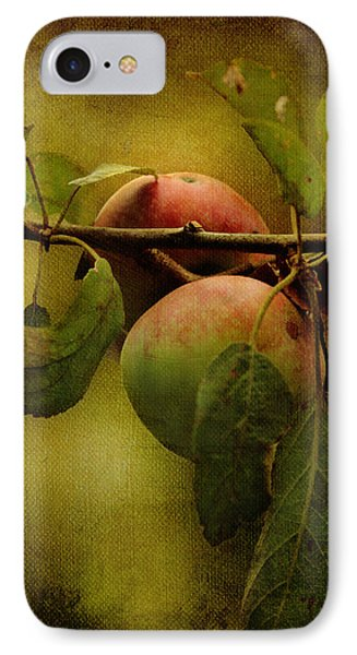 IPhone Case featuring the photograph An Apple A Day by Kathleen Holley