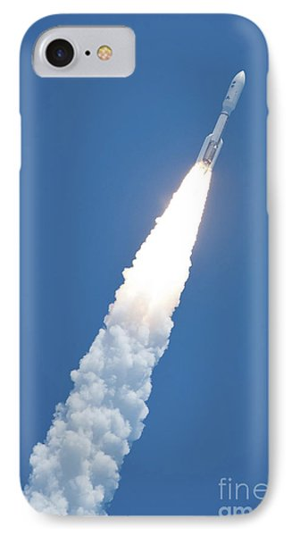 An Atlast V Rocket Carrying The Juno Phone Case by Stocktrek Images