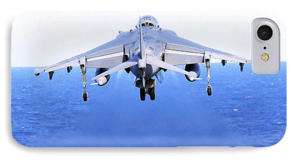 An Av-8b Harrier Jet Launches Phone Case by Stocktrek Images