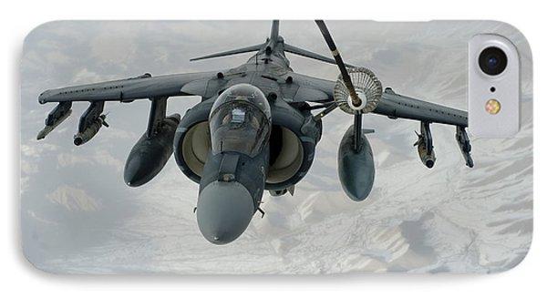 An Av-8b Harrier Receives Fuel Phone Case by Stocktrek Images