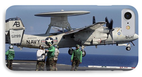 An  E-2c Hawkeye Launches From Aboard Phone Case by Stocktrek Images