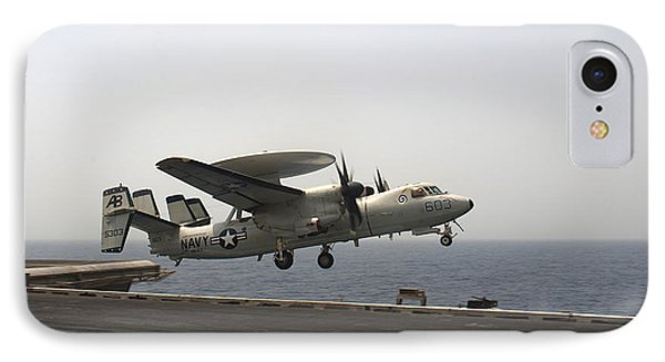 An E-2c Hawkeye Takes Phone Case by Stocktrek Images