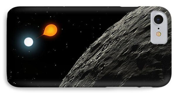 An Eclipsing Binary Star Known IPhone Case