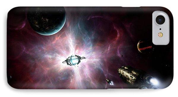 An Enormous Stellar Power Phone Case by Brian Christensen