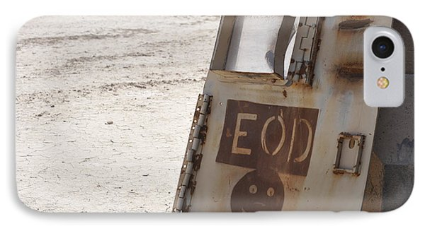 An Explosive Ordnance Disposal Logo Phone Case by Stocktrek Images