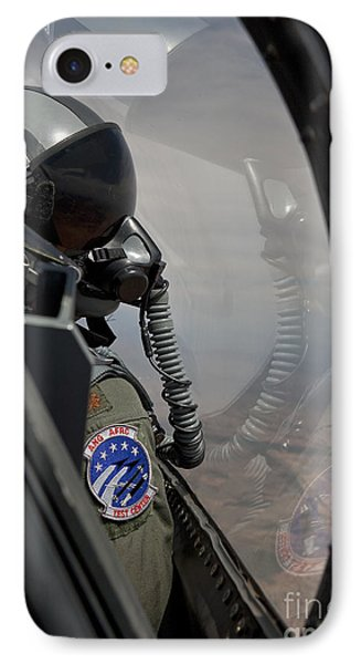 An F-16 Pilot Checks The Position Phone Case by HIGH-G Productions