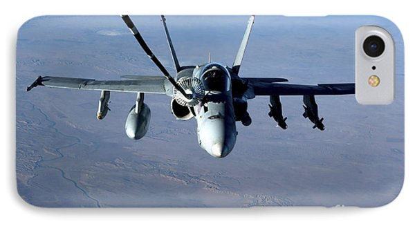 An Fa-18c Hornet Receives Fuel Phone Case by Stocktrek Images