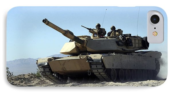 An M1a1 Main Battle Tank Phone Case by Stocktrek Images