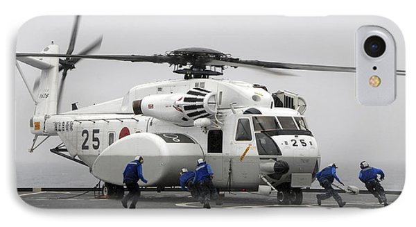 An Mh-53e Super Stallion Helicopter Phone Case by Stocktrek Images