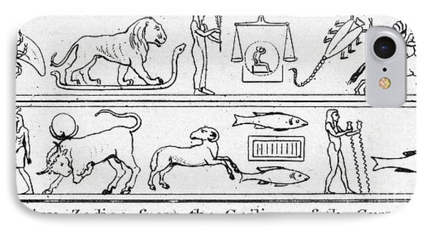 Ancient Egypt: Zodiac IPhone Case by Granger