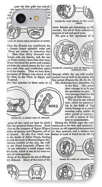 Ancient Roman Coins IPhone Case