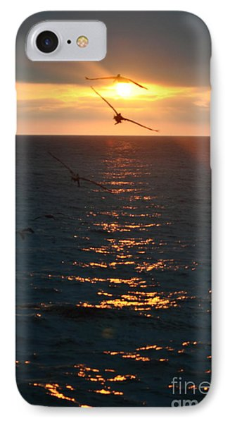 ...and At The End Of The Day... IPhone Case by Valerie Rosen