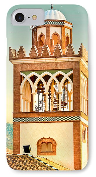 Andalucian Minaret IPhone Case by Tom Gowanlock