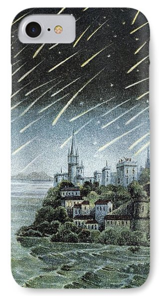 Andromedid Meteor Shower Phone Case by Science, Industry & Business Librarynew York Public Library