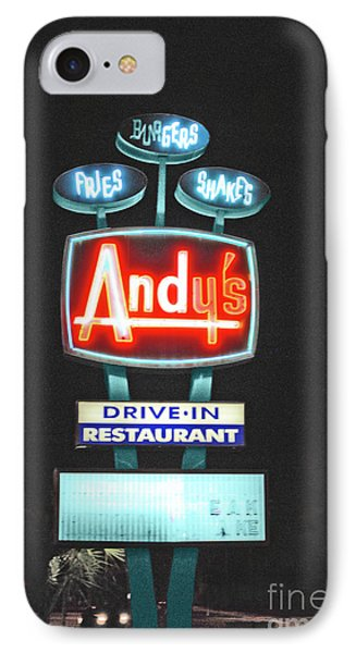 Andy's Drive-in Phone Case by Jost Houk