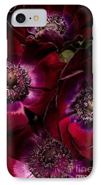 Anemones Phone Case by Ann Garrett
