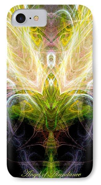Angel Of Abundance Phone Case by Diana Haronis