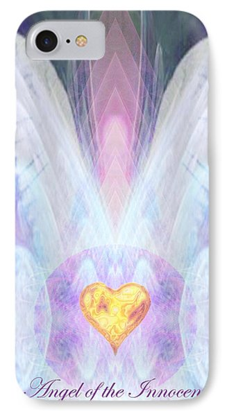 Angel Of The Innocent IPhone Case by Diana Haronis
