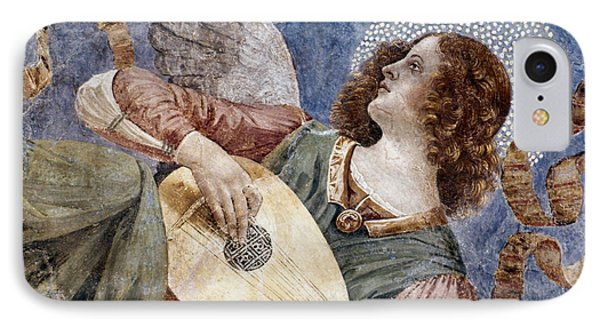 Angel With A Lute Phone Case by Granger