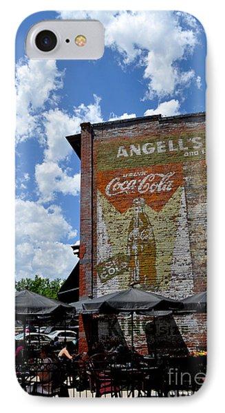 Angell's Deli Phone Case by Anjanette Douglas