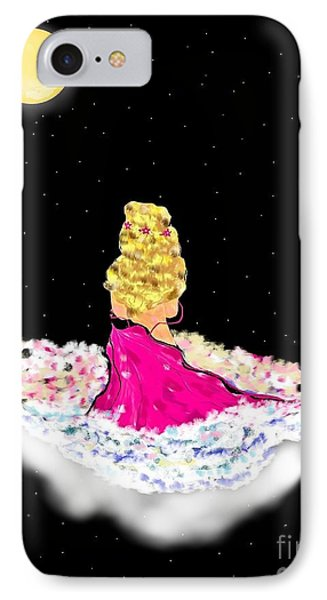 IPhone Case featuring the painting Angelsheaven by Lori  Lovetere